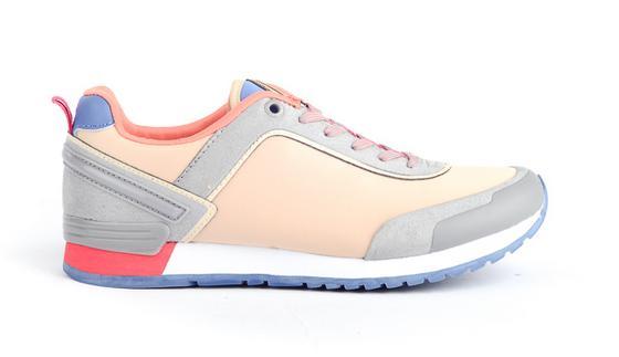 Sneakers met veel kleur